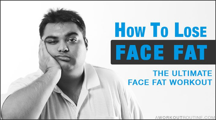 How To Lose Face Fat FAST! Exercises To Get Rid Of A Double Chin