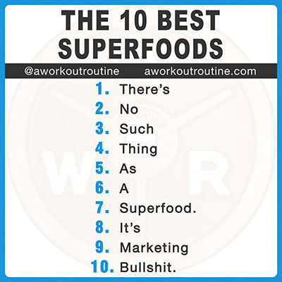 The 10 Best Superfoods