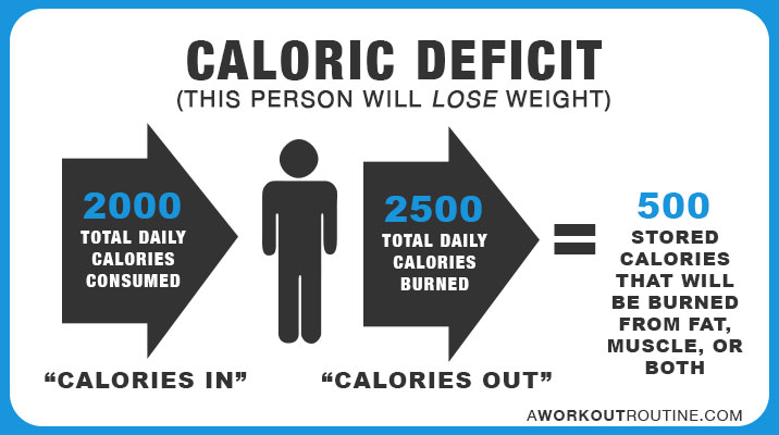 Image result for calorie deficit
